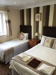 Bed breakfast richmond hotel seafront weston super mare 2016_redecorated guest room