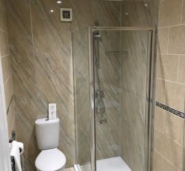 Bed breakfast richmond hotel seafront weston super mare 2016_shower
