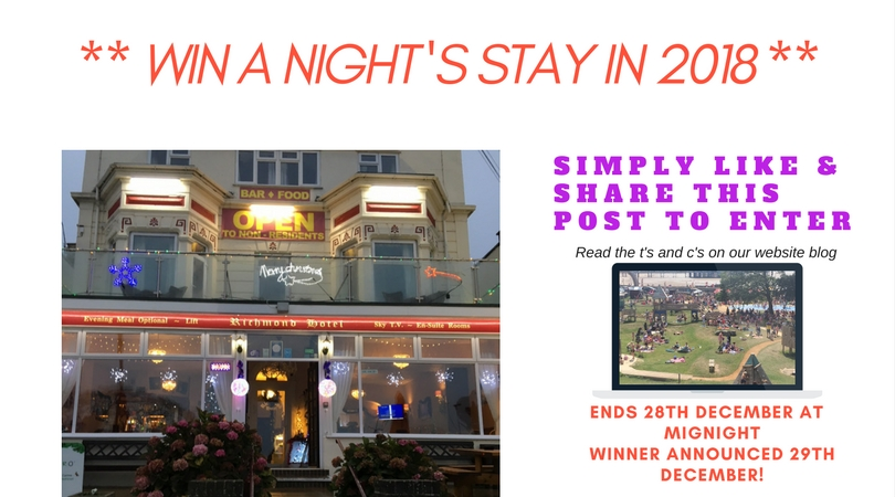 Weston super mare seafront hotel free room 2018 FB Competition - 3
